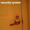 Novo sistema de segurança