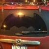 Batman passou por aqui...