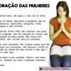 Oração das mulheres!