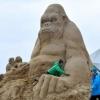 Esculturas de areia