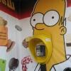 Orelhão Homer Simpson