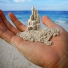 Castelo de areia!