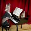 O pianista cantor...