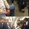 Quero ver fazer isso no metrô lotado!