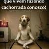 Orando com fé!