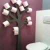 Árvore de papel higiênico...