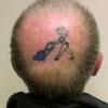 Tatuagem hilária...