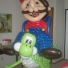 Mario Bros de bexiga!