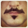 Bigode do Batman...