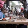 Almoço na Arca De Noé...