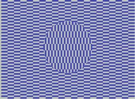 ilusão A imagem está se movimentando?