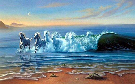 Quantos Cavalos consegue ver?