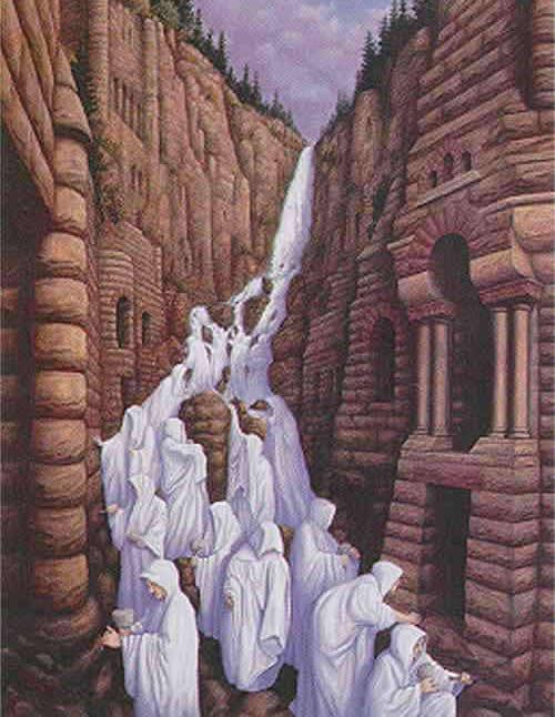 ilusão Cachoeira de Fiéis