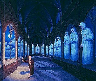 ilusão Corredor Fantasma
