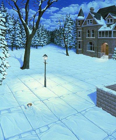 ilusão Dormindo na Neve