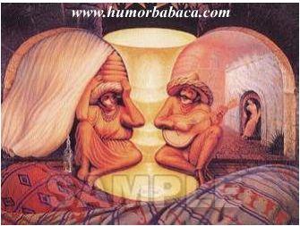 Um casal de velhos, ou dois mexicanos?