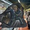 Será pintura no metrô ou apenas foto?