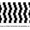 As linhas estão retas?