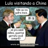 Lula Entornando na China