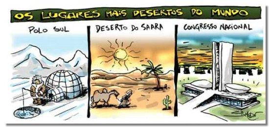 Lugares mais desertos do mundo