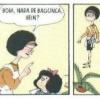 Mafalda - Brincando de governo