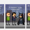 Nem o Batman escapa...