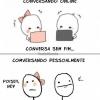 Diferença entre online e offline