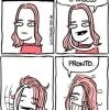 Deixa eu arrumar o cabelo...